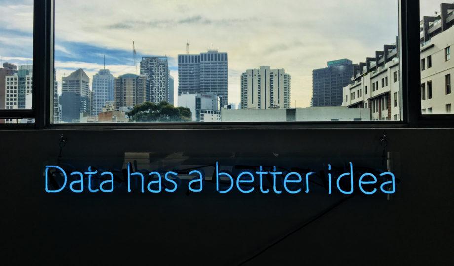 "Neon ""Data has a better idea"""