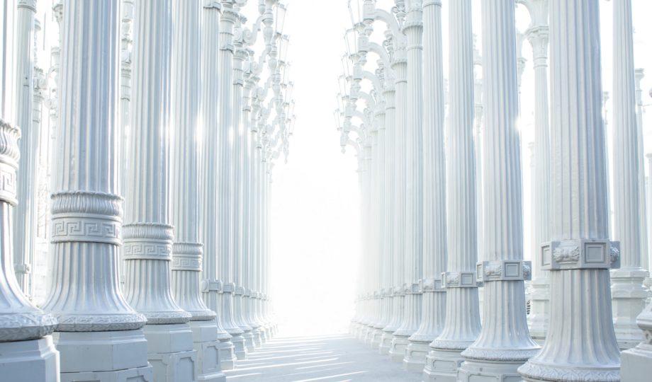 Pilares gregos