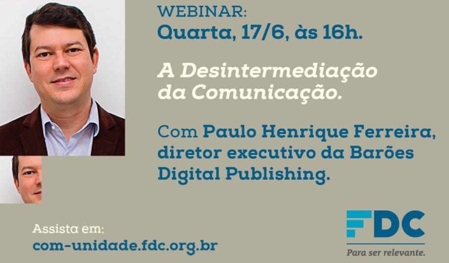 Webinar FDC - Fundação Dom Cabral